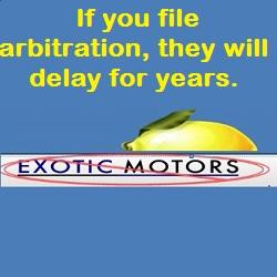 Exotic Motors Fraud